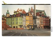 Warsaw - The Old Town Carry-all Pouch by Jaroslaw Blaminsky