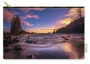 Washington Coast Sunset Sands Carry-all Pouch