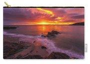 Washington Coast Sunset Serene Evening Carry-all Pouch