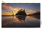 Washington Coast Weeping Lady Sunset Cloudscape Carry-all Pouch