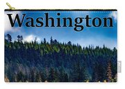 Washington - Gifford Pinchot National Forest Carry-all Pouch