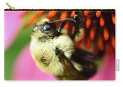 Water Drop On Bee Eye Carry-all Pouch