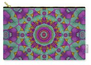 Water Garden Lotus Blossoms In Sacred Style Carry-all Pouch