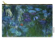 Water Lilies 1918 - Digital Remastered Edition Carry-all Pouch