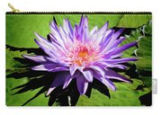 Water Lily 7 Carry-all Pouch