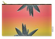 Water Lily Duo Two Carry-all Pouch