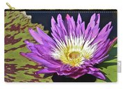 Water Lily On The Pond Carry-all Pouch