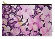 Watercolor - Cherry Blossom Design Carry-all Pouch