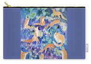 Watercolor - Fox And Firefly Design Carry-all Pouch