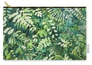 Watercolor - Rainforest Canopy Design Carry-all Pouch