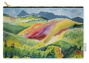 Watercolor - Wilson Mesa Landscape Impression Carry-all Pouch