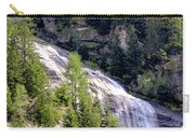 Waterfall In The Mountains. Carry-all Pouch