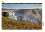 Waterfall Mist Of Iceland Carry-all Pouch