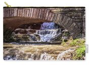 Waterfalls Through Stone Bridge Carry-all Pouch