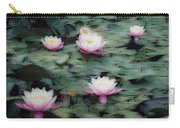 Waterlily Impressions Carry-all Pouch