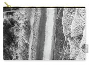 Waves Abstract Two Carry-all Pouch by Donnie Whitaker