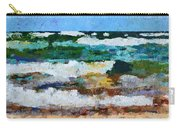 Waves Crash - Painting Version Carry-all Pouch