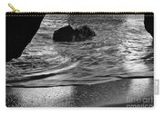 Waves From The Cave In Monochrome Carry-all Pouch