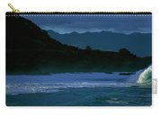 Waves In The Pacific Ocean, Waimea Bay Carry-all Pouch