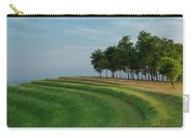 Waves Of Grass Carry-all Pouch by Davor Zerjav