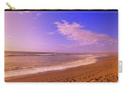 Waves On The Beach, North Beach, Point Carry-all Pouch