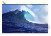 Waves Splashing In The Sea, Maui Carry-all Pouch