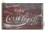 Weathered Coca Cola Sign Carry-all Pouch