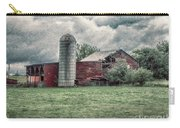 Weathered Worn And Standing Strong Carry-all Pouch by Judy Hall-Folde