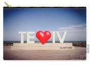 Welcome To Tel Aviv Port Carry-all Pouch