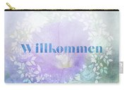 Welcome - Willkommen Carry-all Pouch