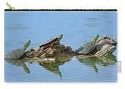 Western Painted Turtles Carry-all Pouch