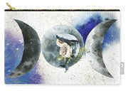 Whale Goddess Carry-all Pouch by Bee-Bee Deigner