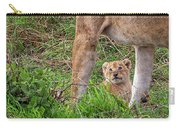 What Could Be Cuter Than A Baby Lion Cub? Carry-all Pouch