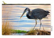 Wheeler Oregon - Great Blue Heron Carry-all Pouch