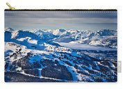 Whistler In Winter Carry-all Pouch