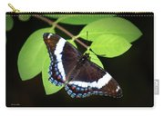 White Admiral Butterfly Carry-all Pouch