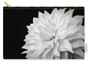 White Dahlia Carry-all Pouch