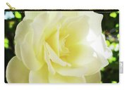 White Rose Petals 2  Carry-all Pouch