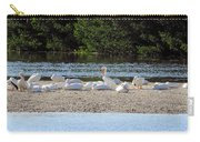 White Pelican Rest Carry-all Pouch