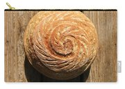 White Sourdough Spiral Carry-all Pouch