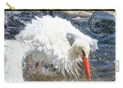 White Stork Fishing Carry-all Pouch