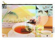 White Tea Blend  Carry-all Pouch