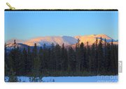 Whitehorse Winter Sunset Carry-all Pouch
