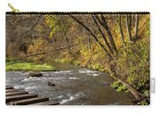 Whitewater River Scene 55 C Carry-all Pouch