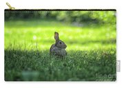 Wild Bunny Rabbit Carry-all Pouch