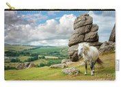 Wild Dartmoor Pony Carry-all Pouch