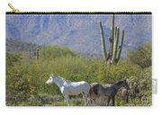 Wild Horses Tonto National Forest Carry-all Pouch