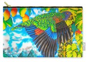 Wild Parrot Carry-all Pouch