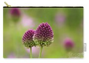 Wild Purple Flowers Carry-all Pouch