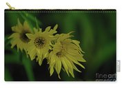 Wild Sunflowers In The Wind Carry-all Pouch